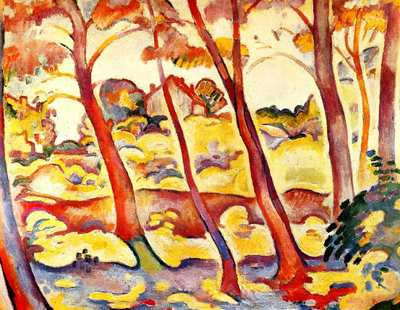 Les fauves artbite for Braque peintre
